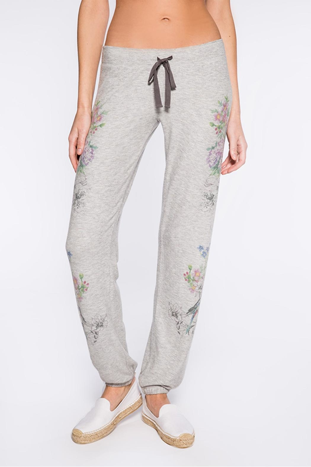 PJ Salvage Floral Bird Sweatpant - Main Image