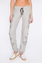 PJ Salvage Floral Bird Sweatpant - Front cropped