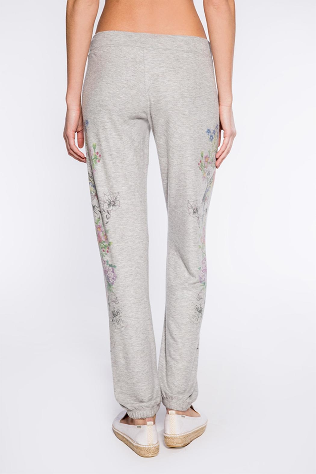 PJ Salvage Floral Bird Sweatpant - Side Cropped Image