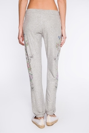 PJ Salvage Floral Bird Sweatpant - Side cropped