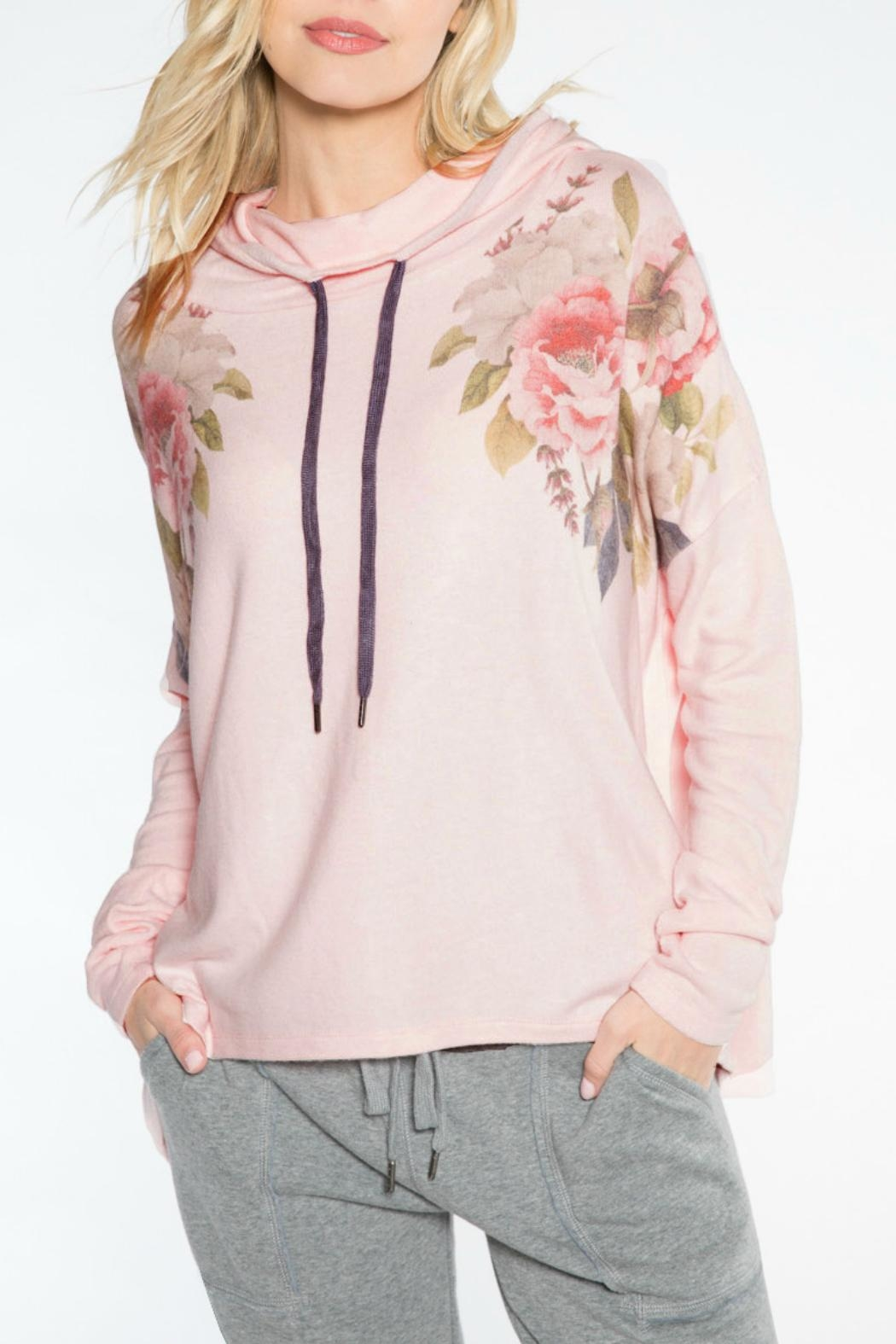PJ Salvage Flower Love Hoody - Front Cropped Image