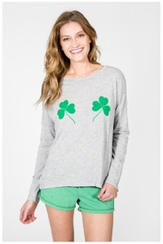 PJ Salvage Lucky Me Top - Front cropped
