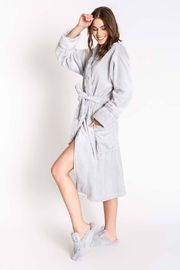 PJ Salvage Silky Luxe Plush Robe - Front cropped
