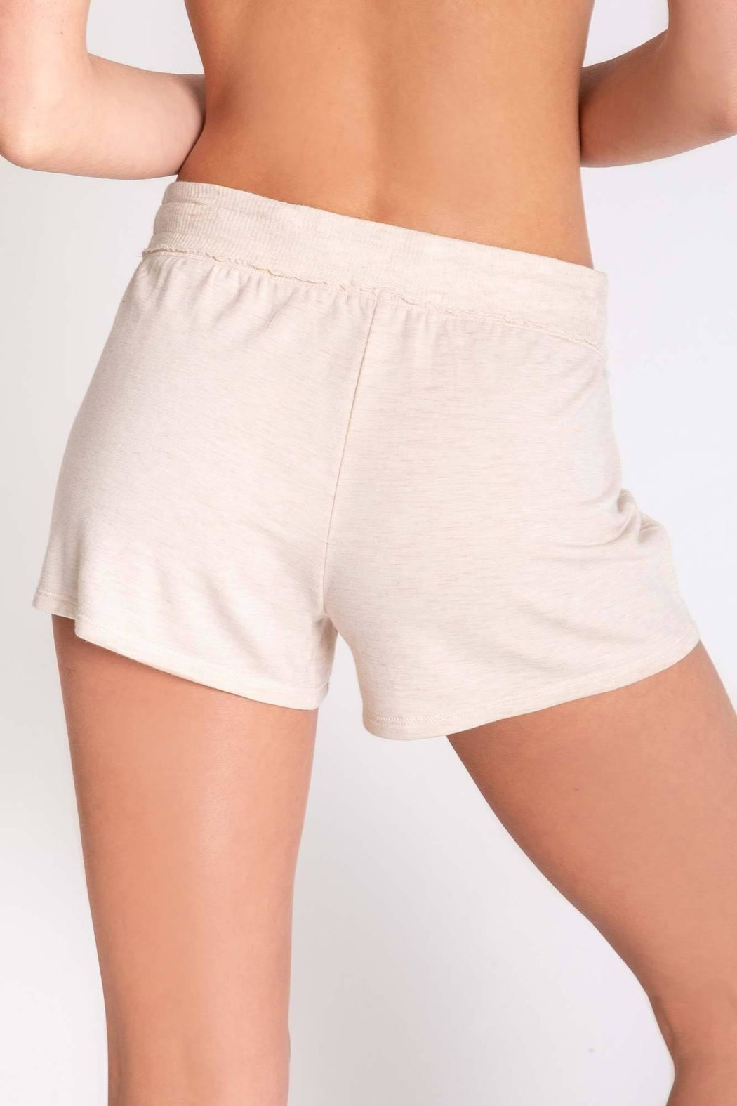 PJ Salvage Oatmeal Lounge Bottoms - Side Cropped Image