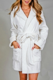 PJ Salvage Rehsr Spot Robe - Front cropped