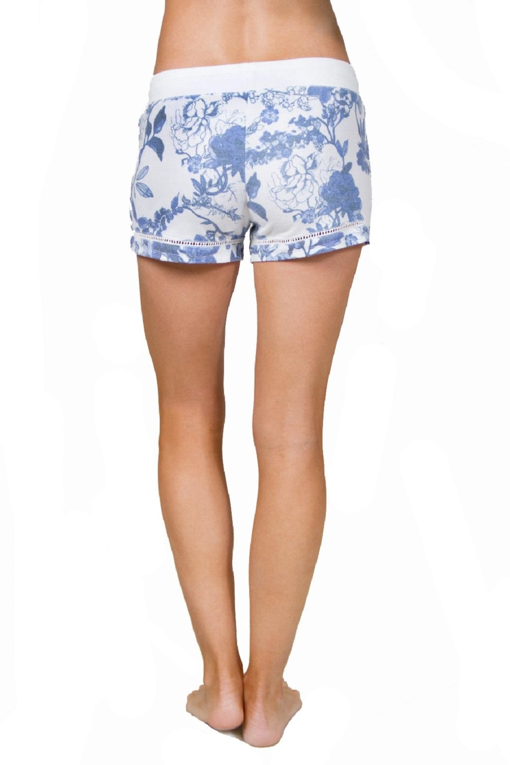 PJ Salvage Secret Garden Shorts - Front Full Image