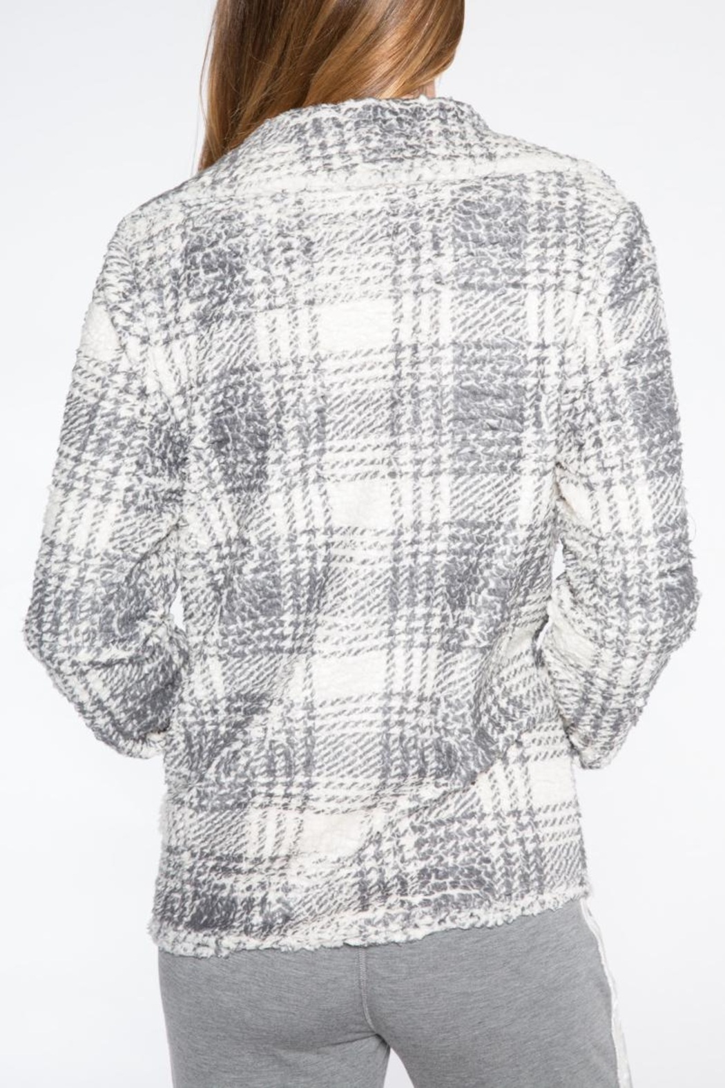 PJ Salvage Sherpa Chic Cardigan - Side Cropped Image