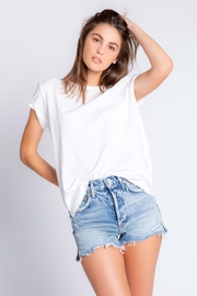 PJ Salvage Short Sleeve T-Shirt Ivory - Product Mini Image
