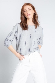 PJ Salvage Stormy Monday Long Sleeve Top - Product Mini Image
