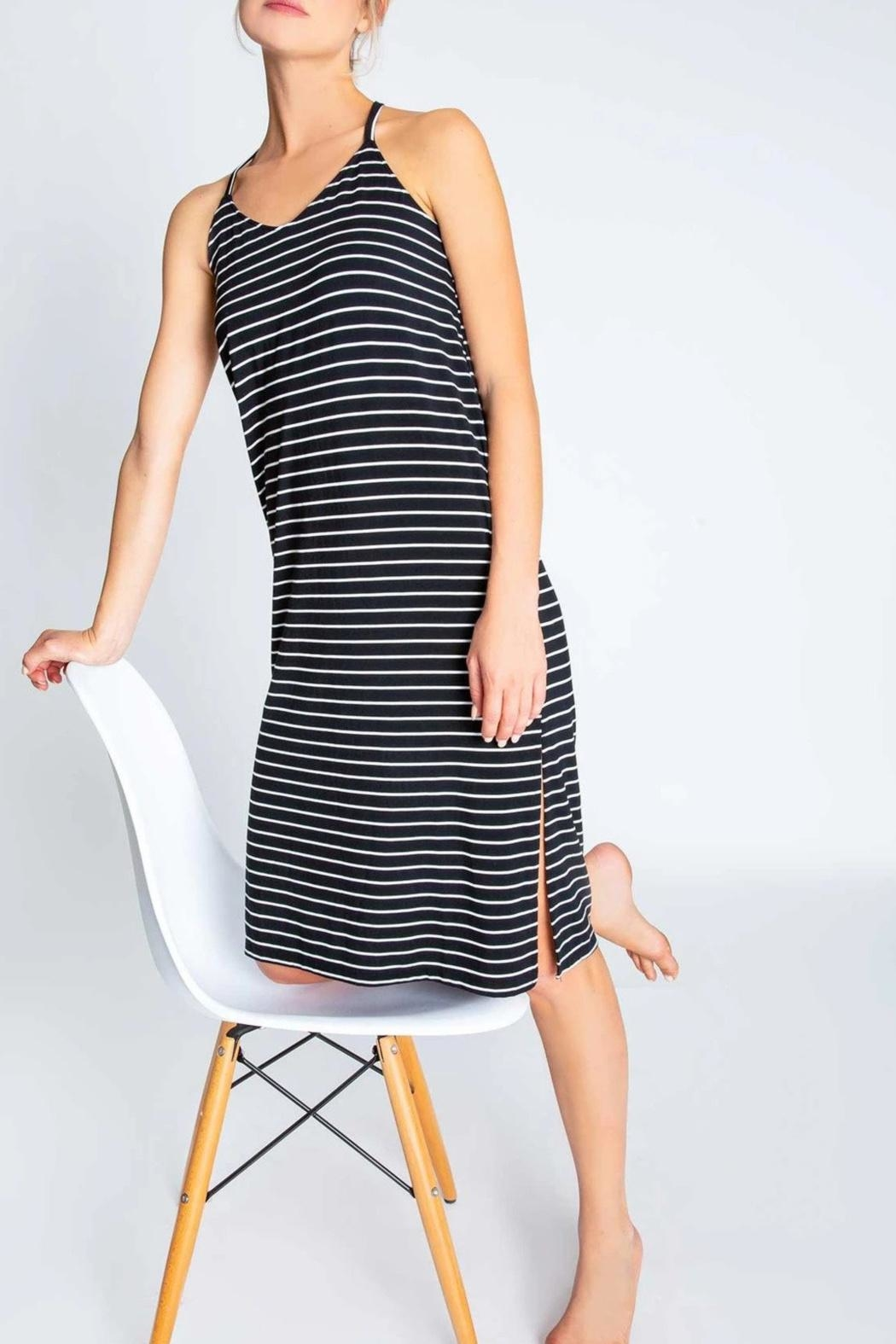 PJ Salvage Strappy Dress - Front Cropped Image
