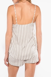 PJ Salvage Striped Cami - Front full body
