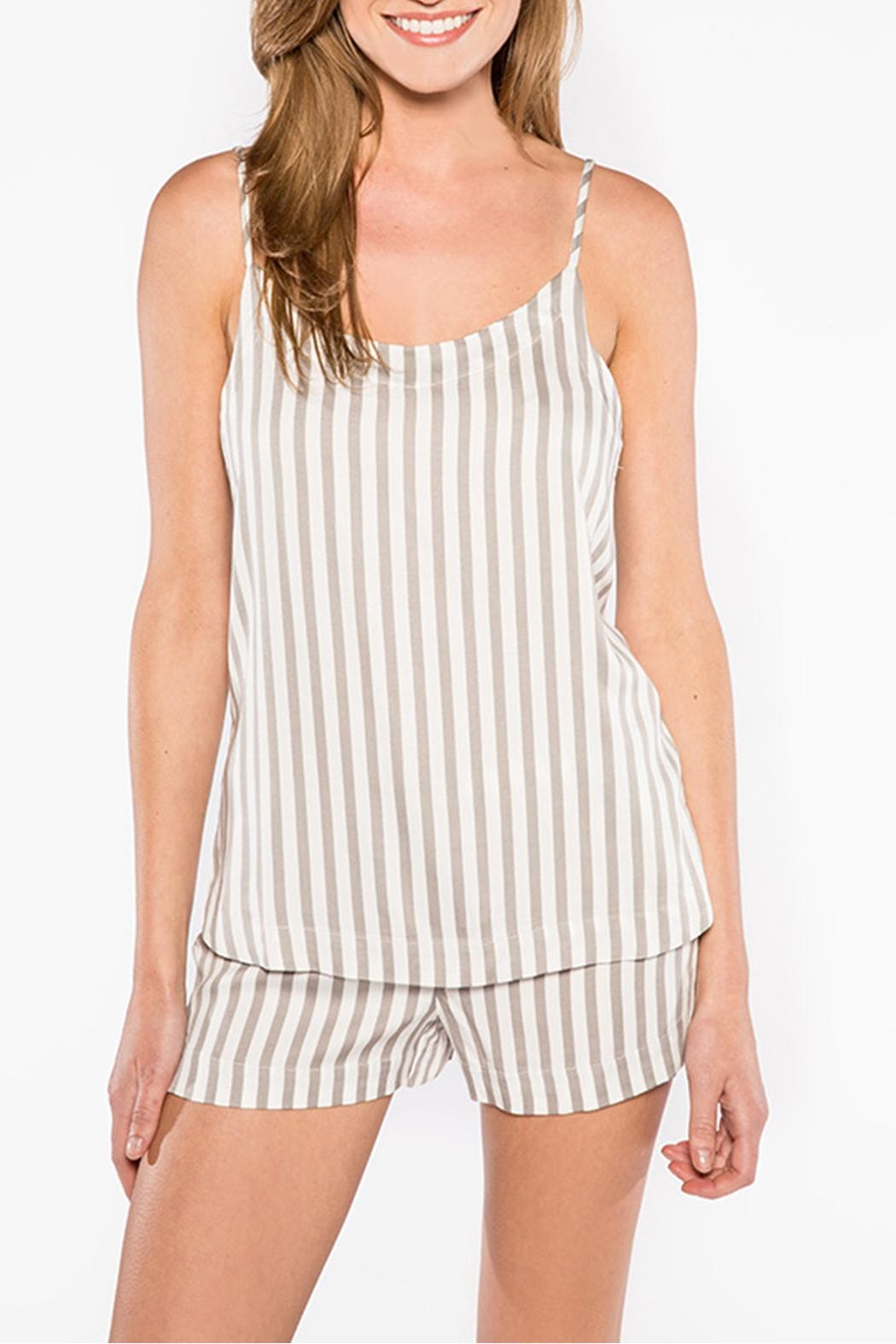 PJ Salvage Striped Cami - Main Image
