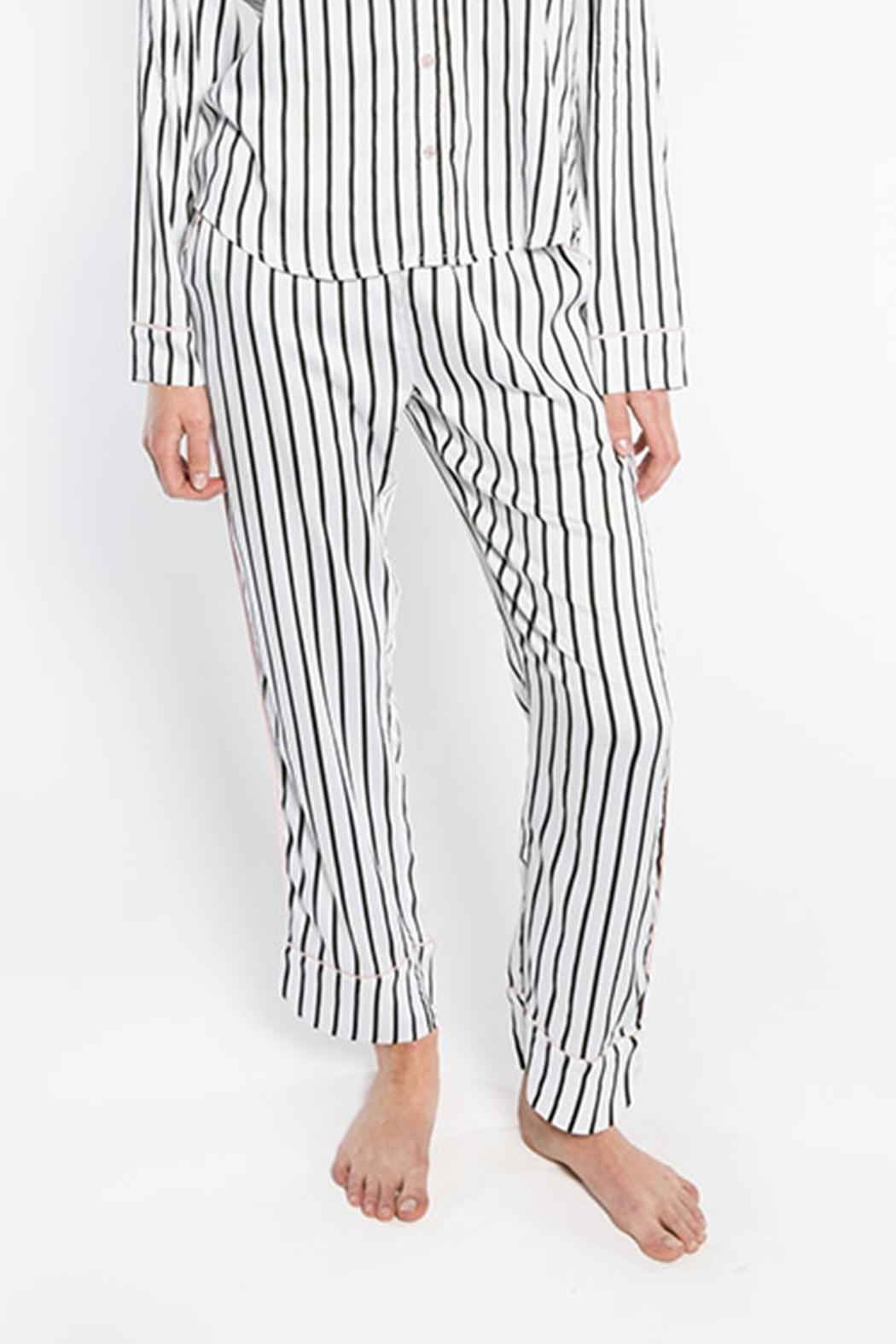 PJ Salvage Striped Pajama Pants - Main Image