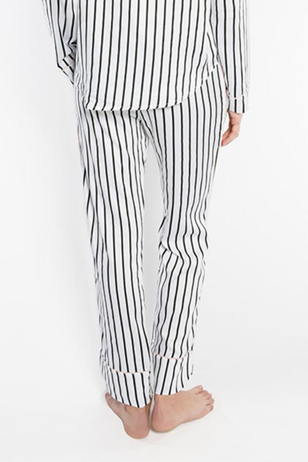 PJ Salvage Striped Pajama Pants - Side Cropped Image