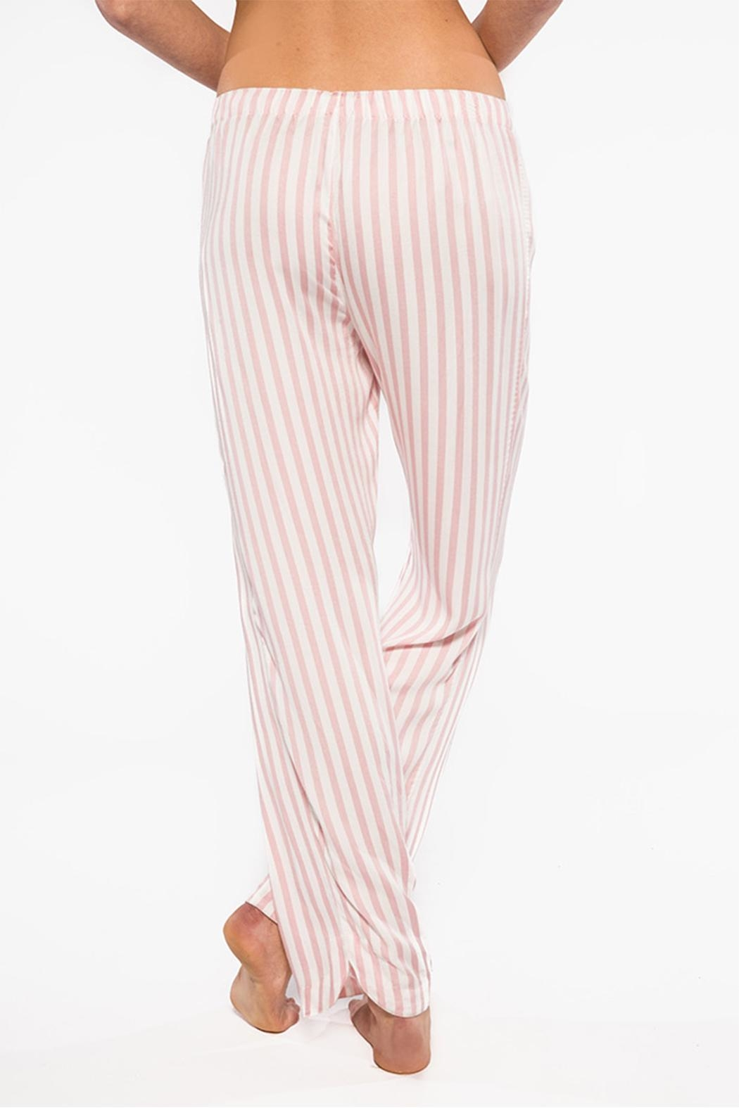 PJ Salvage Striped Pants - Front Full Image