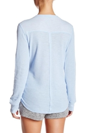 PJ Salvage Thermal Henley Top - Front full body