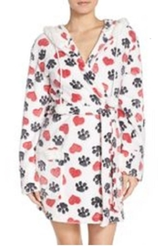 PJ Salvage Valentine Heart Robe - Front cropped