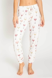 PJ Salvage Wine Pant - Front cropped