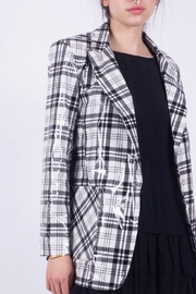 NU New York Plaid 1 Button - Back cropped