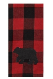 Park Designs Plaid Bear Dishtowel - Product Mini Image