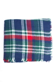 Wona Trading Plaid Blanket Scarf - Product Mini Image