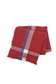 Mud Pie Plaid Blanket Scarf - Product Mini Image