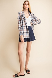 Gilli Plaid Blazer - Product Mini Image