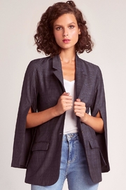 BB Dakota Plaid Boyfriend Blazer - Product Mini Image