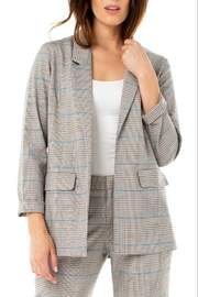Liverpool  Plaid Boyfriend Blazer - Product Mini Image