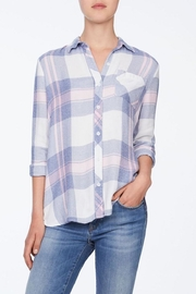 Beach Lunch Lounge Plaid Button Down - Product Mini Image