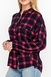 Lush Clothing  Plaid Button Down - Product Mini Image