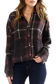 Anama Plaid Button-Down Top - Product Mini Image