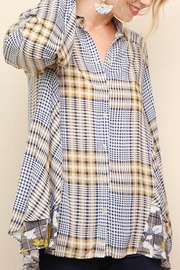 Umgee USA Plaid Button Up - Product Mini Image