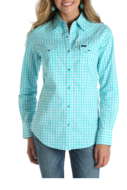 Wrangler Plaid Button Up - Product Mini Image