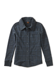 Tea Collection Plaid Button Up Shirt - Front cropped