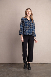 Habitat Plaid Button Up Top - Product Mini Image