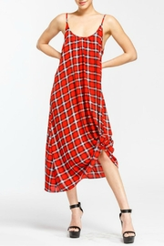 Cherish Plaid Camisole Dress - Product Mini Image
