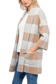 love token Plaid Cardigan/coat - Product Mini Image
