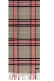 V. Fraas Plaid Cashmink Scarf - Product Mini Image