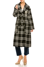 L'atiste Plaid Check Jacket - Front full body