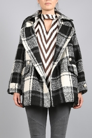 BEULAH STYLE Plaid Coat - Product Mini Image