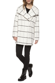 Dex Plaid Coat - Product Mini Image