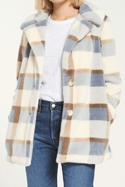Zsupply Plaid coat - Front cropped