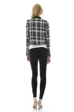 virgin only Plaid Cropped Blazer - Alternate List Image