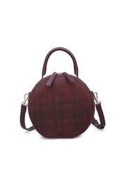 Moda Luxe Plaid Crossbody Bag - Product Mini Image