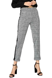 Favlux Plaid Cuffed Pant - Product Mini Image