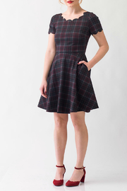 Smak Parlour Plaid dress - Product Mini Image