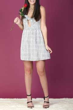 Everly Plaid Dress - Product List Image