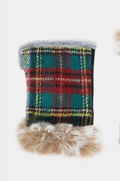 KTown Plaid Fingerless Glove - Product List Image
