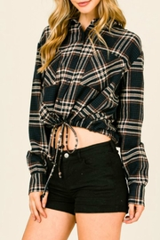 Timing Plaid Flannel Shirt - Product Mini Image